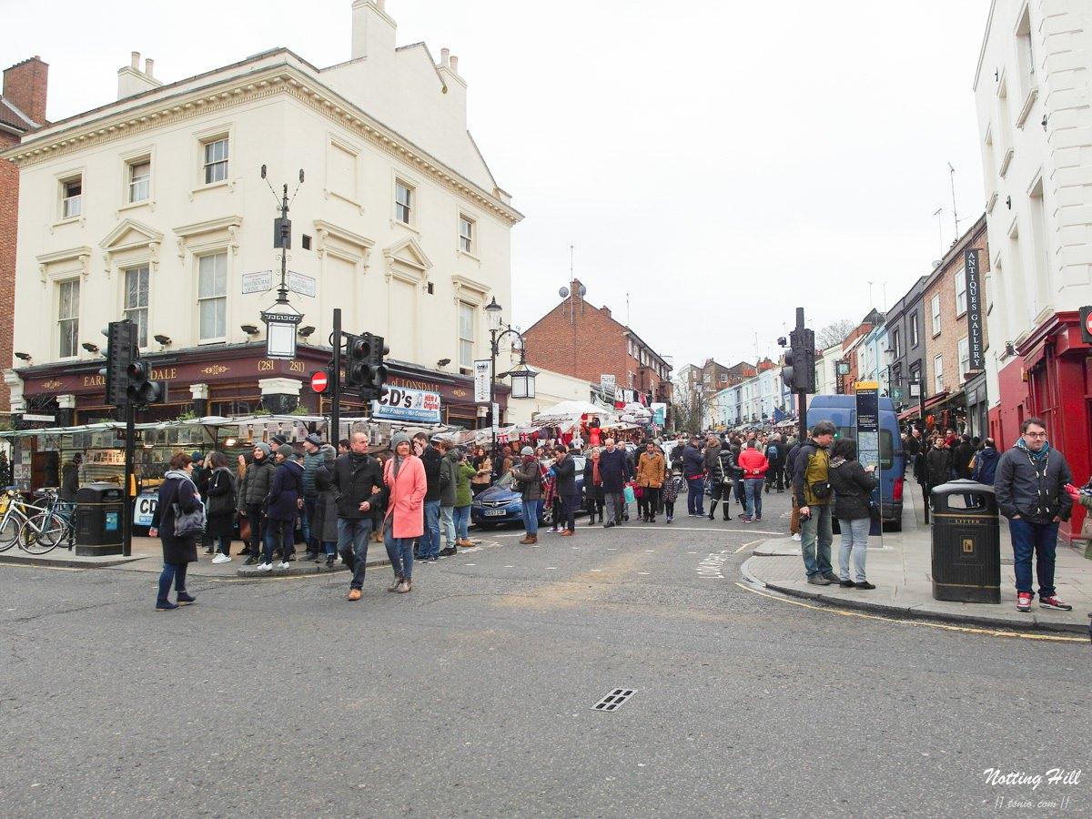 倫敦景點 | 諾丁丘、波多貝羅路市集 新娘百分百Notting Hill拍攝場景