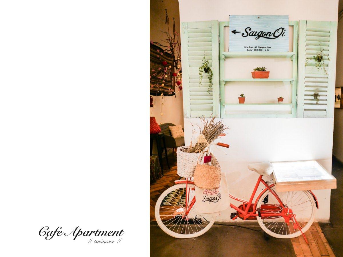胡志明市必去景點 咖啡公寓 越南最文青的 十層樓公寓咖啡廳