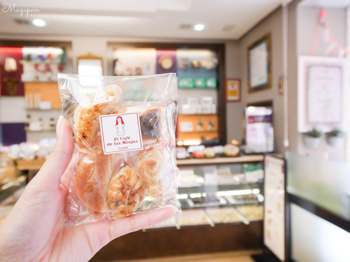 西班牙托雷多美食 Mazapan 杏仁糕餅 El Cafe de las Monjas 修女咖啡廳
