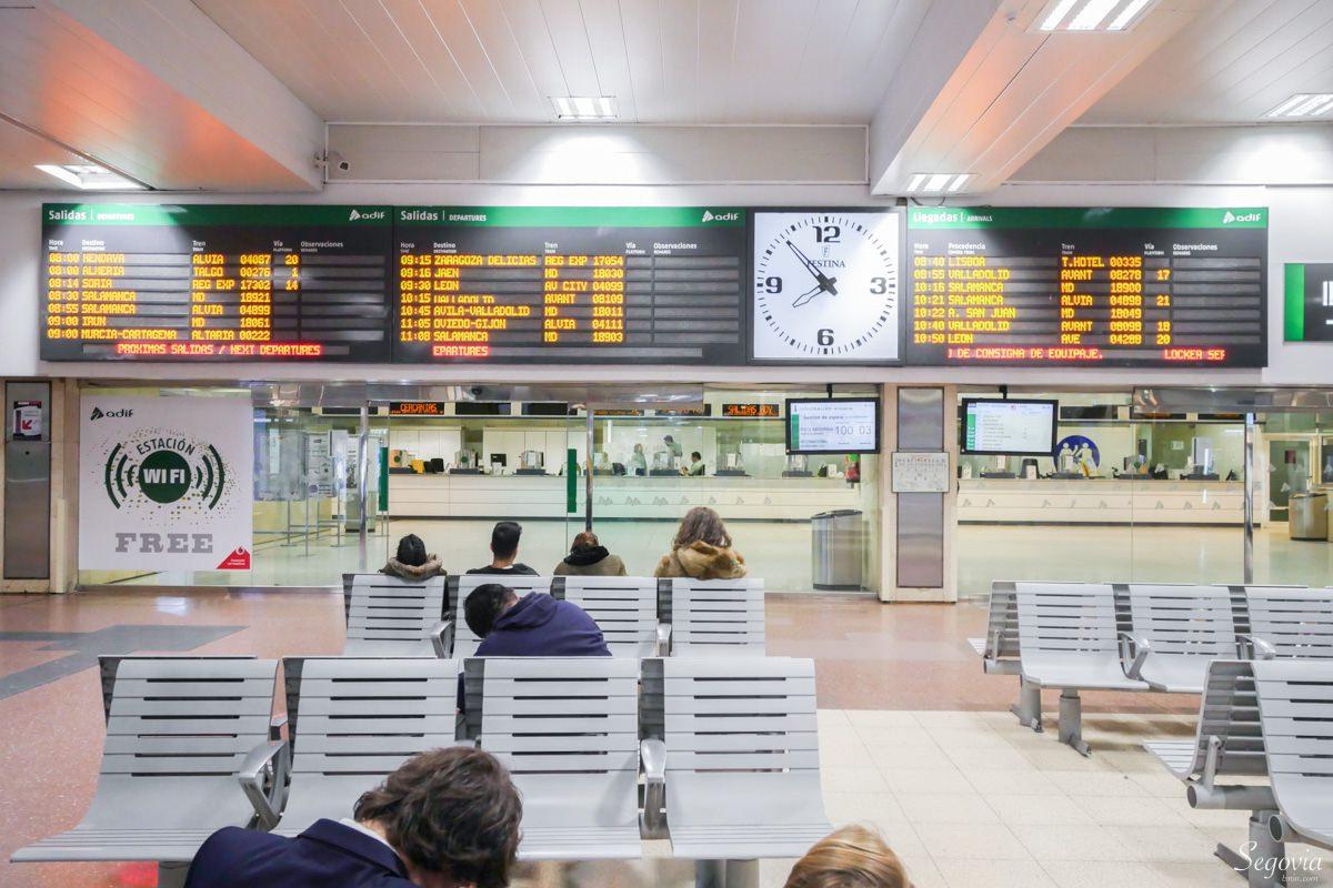 馬德里到塞哥維亞交通方式 西班牙火車搭乘心得