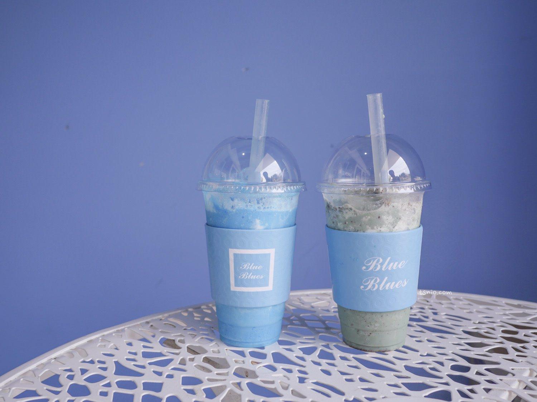 大邱美食 Blue Blues 藍色天空優格冰沙 大邱咖啡廳特輯