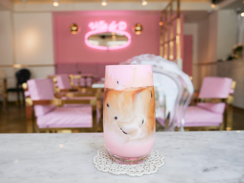 大邱美食 Villa de D 粉紅夢幻咖啡廳 大邱咖啡廳特輯