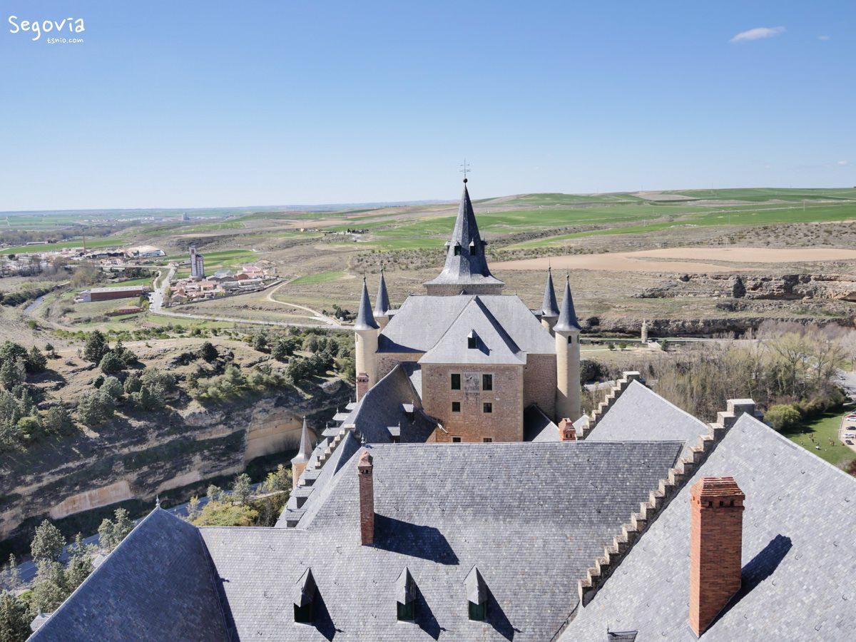 西班牙塞哥維亞景點 塞哥維亞城堡 Alcázar de Segovia 白雪公主城堡