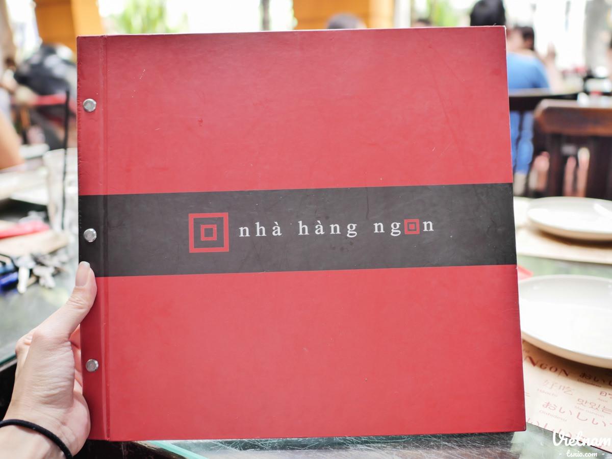 胡志明市美食 好吃館 Nha Hang Ngon 第一郡熱門餐廳