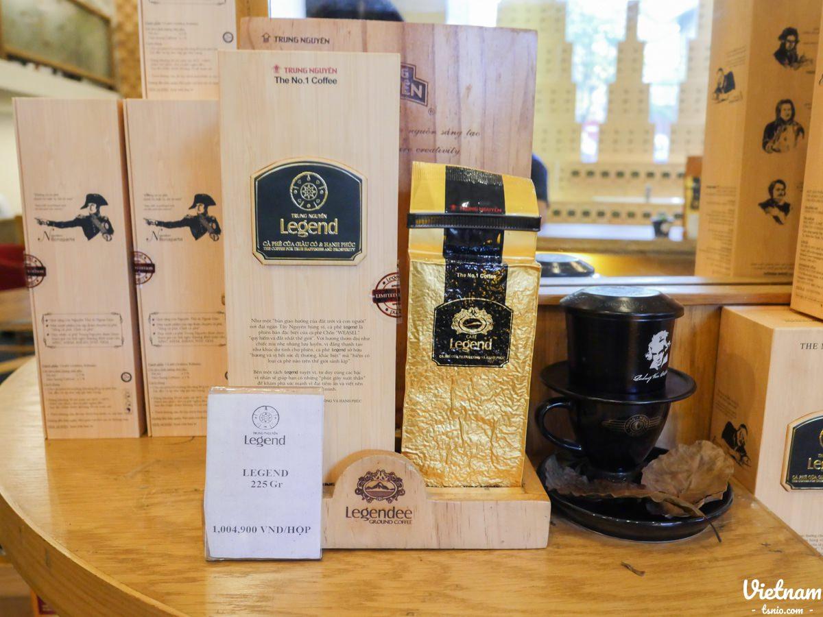 越南中原咖啡 Trung Nguyen Coffee 胡志明市咖啡廳推薦