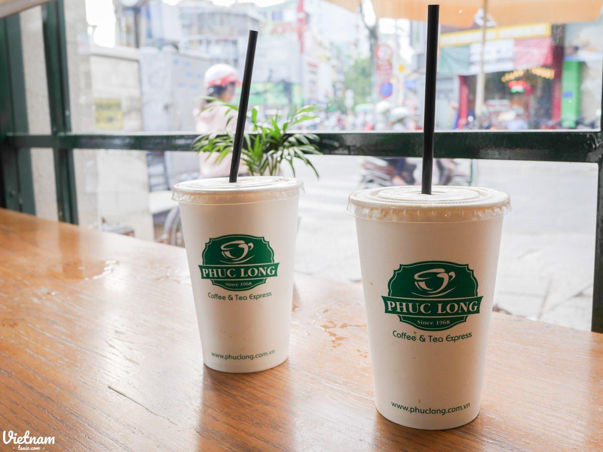 越南胡志明市 福隆咖啡 Phuc Long Coffee & Tea Express 福隆奶茶好好喝