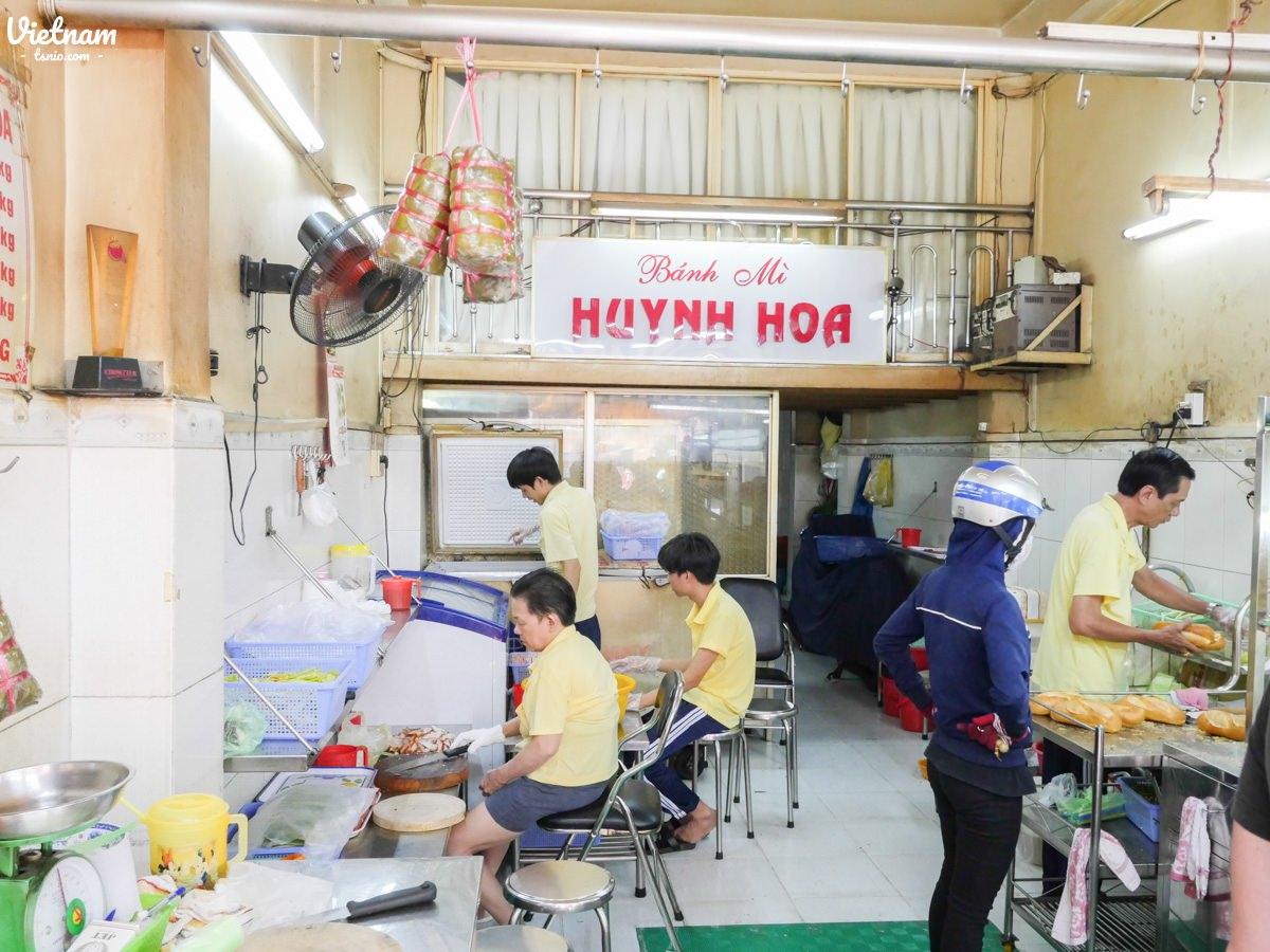 胡志明市美食推薦 最好吃的法國麵包 Bánh Mì Hùynh Hoa