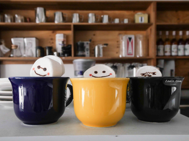 大邱美食 Omnipotent Coffee 옴니포턴트 雪人棉花糖卡布奇諾 大邱咖啡廳特輯