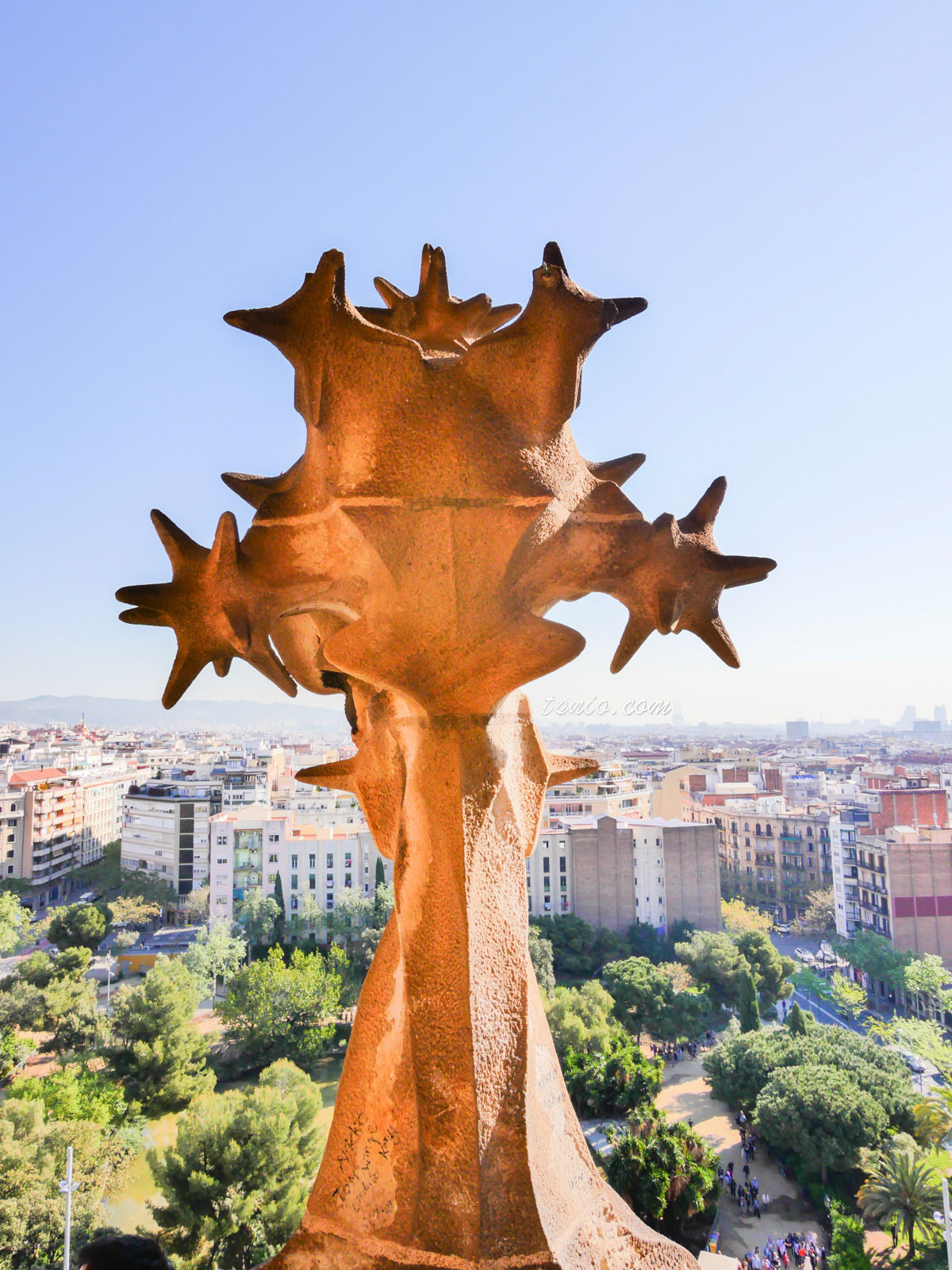 西班牙巴塞隆納景點 聖家堂 La Sagrada Familia 經典高第建築設計