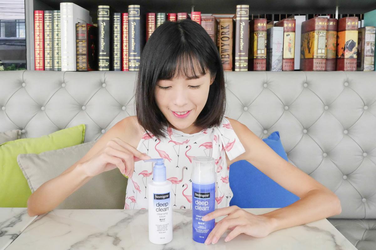卸妝產品推薦 Neutrogena 露得清 深層卸妝乳、洗卸輕透潔顏油