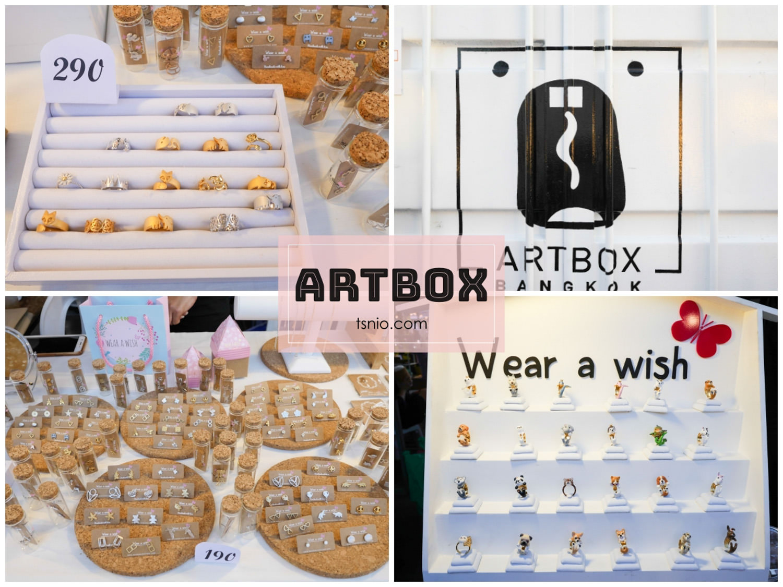 曼谷夜市 ARTBOX Bangkok 文青貨櫃創意市集