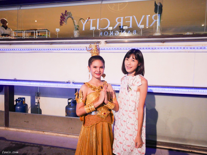 曼谷昭披耶河遊船推薦 白蘭花號 White Orchid