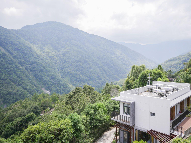 拉拉山民宿推薦 谷點咖啡民宿 一泊二食超美景觀客房