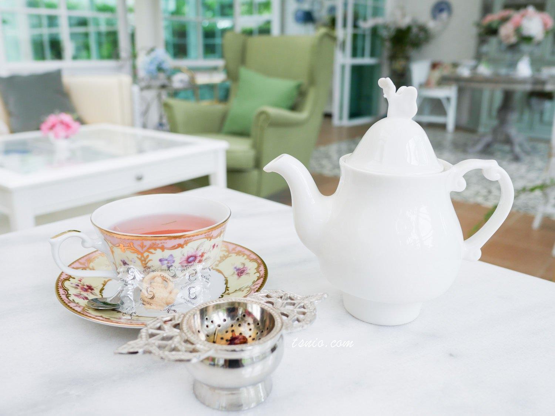 曼谷美食 T's Room 56 英式鄉村風下午茶 On Nut站咖啡廳