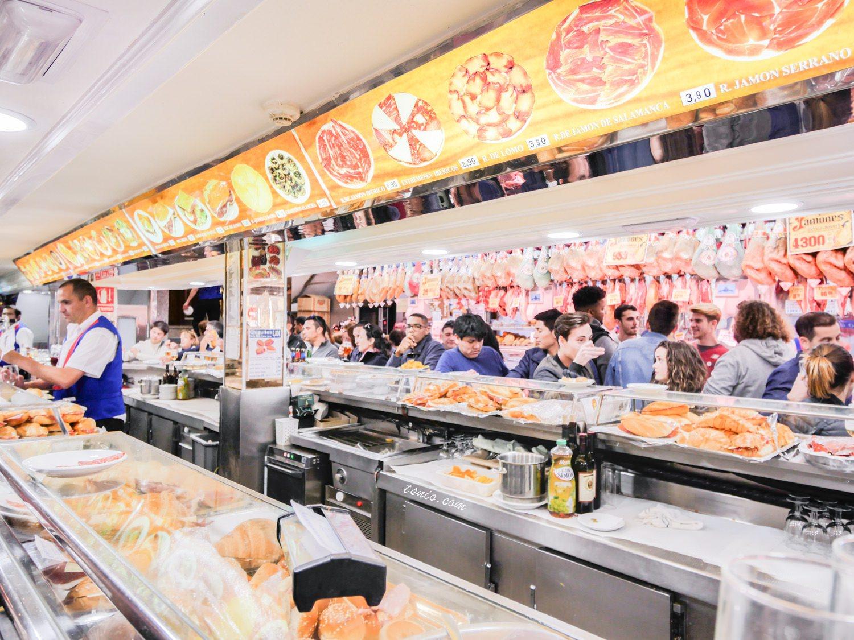 西班牙馬德里美食推薦 火腿博物館 Museo del Jamón 伊比利火腿平價餐廳