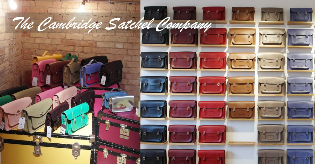 [英國] 英國必買戰利品劍橋包 13吋黑色經典款開箱 The Cambridge Satchel Company