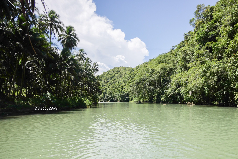 菲律賓薄荷島美食 Loboc River Cruise 漂流竹筏遊河 菲式風味餐