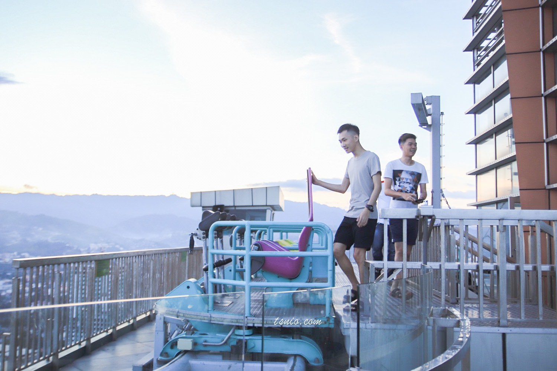 菲律賓宿霧景點 高空軌道車 皇冠大酒店高空自助餐