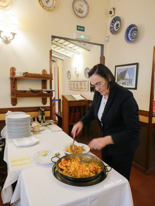 西班牙馬德里美食推薦 La Barraca 海鮮燉飯餐廳