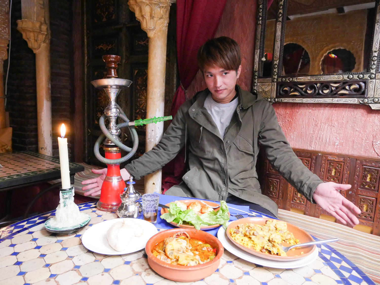 西班牙格拉納達美食推薦 KASBAH Tetería restaurante 阿拉伯茶館餐廳