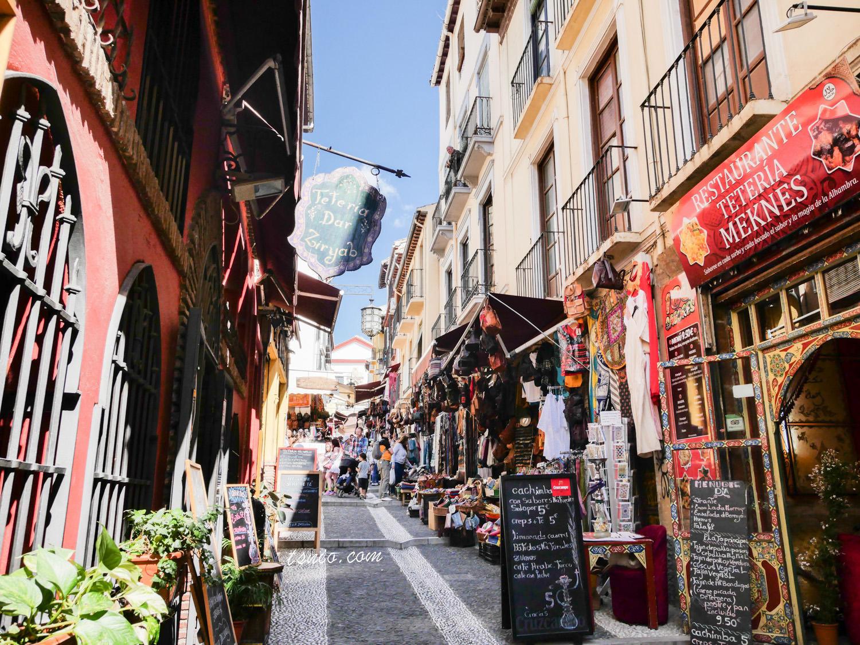 西班牙格拉納達景點總整理 格拉納達散步地圖