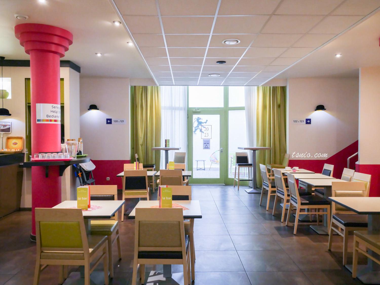 盧森堡住宿推薦 ibis StylesLuxembourg Centre Gare盧森堡車站附近飯店