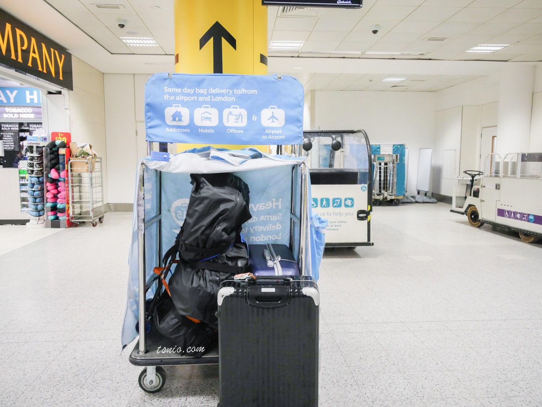 英國倫敦行李寄送服務 LuggAgent行李特工 飯店機場行李運送