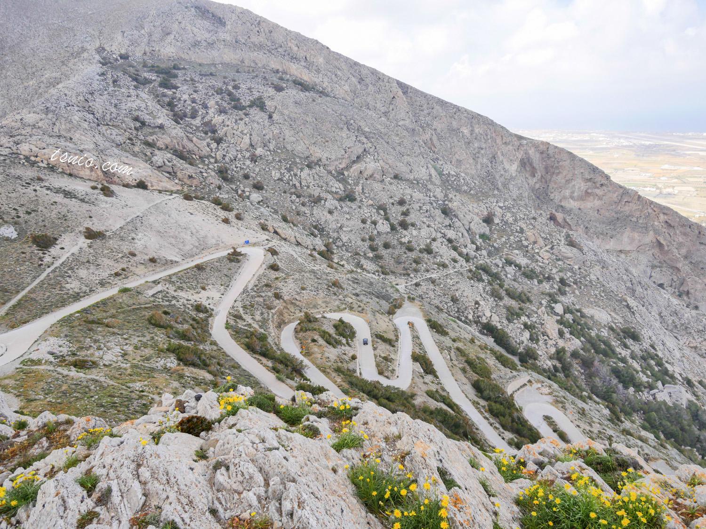 希臘聖托里尼自駕 注意事項、Hertz租車心得、景點介紹