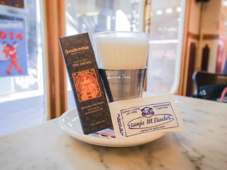 西班牙巴塞隆納美食推薦 Granja M. Viader 經典百年老店吃早餐