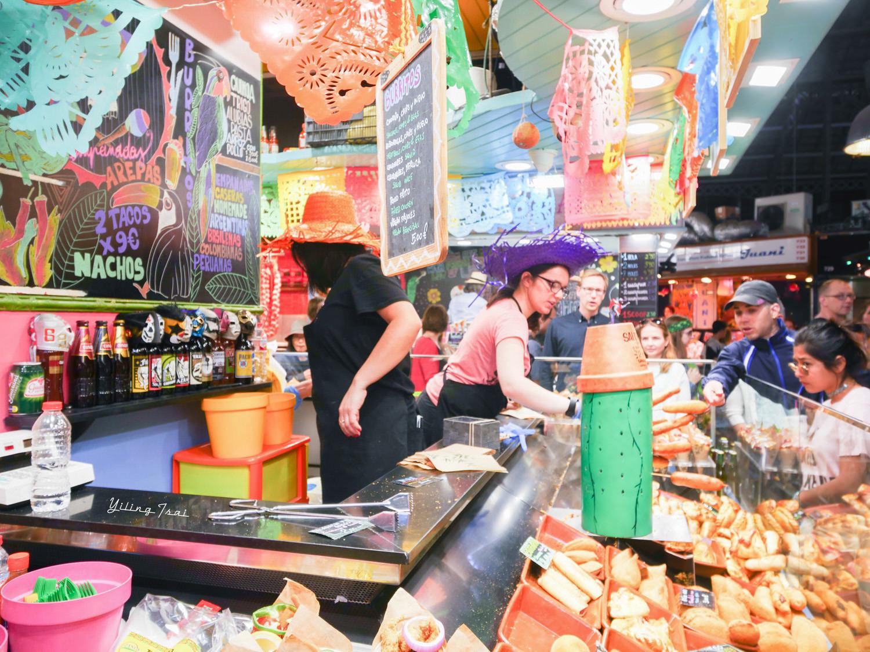 西班牙巴塞隆納美食 聖約瑟市場 Mercat de la Boqueria