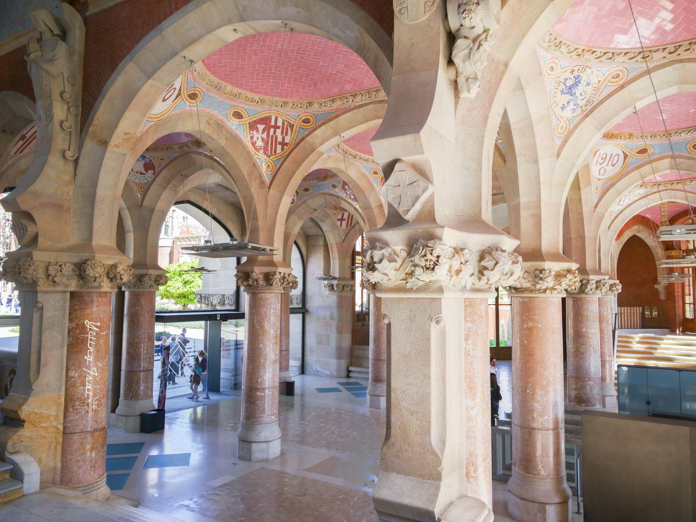 西班牙巴塞隆納景點 聖十字聖保羅醫院 加泰隆尼亞現代主義建築