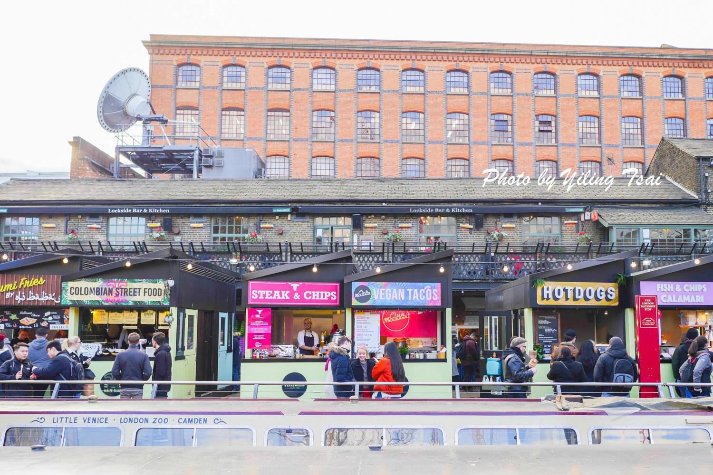 英國倫敦市集 Camden Market 肯頓市集 文青挖寶好去處