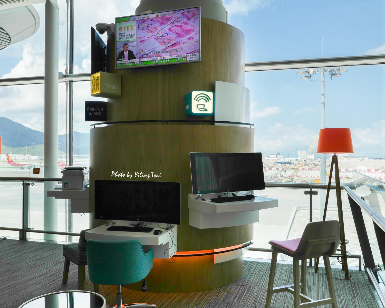 香港航空貴賓室 Club Autus 遨堂貴賓室 現做港式風味餐點雞蛋仔