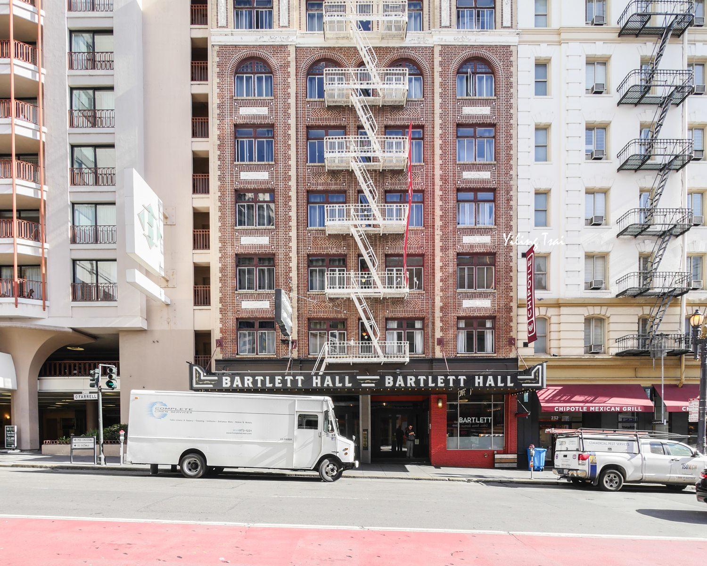 美國舊金山住宿推薦 The Bartlett Hotel and Guesthouse 交通超便利青旅