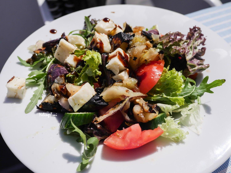 希臘聖托里尼美食 Salt & Pepper 費拉餐廳推薦