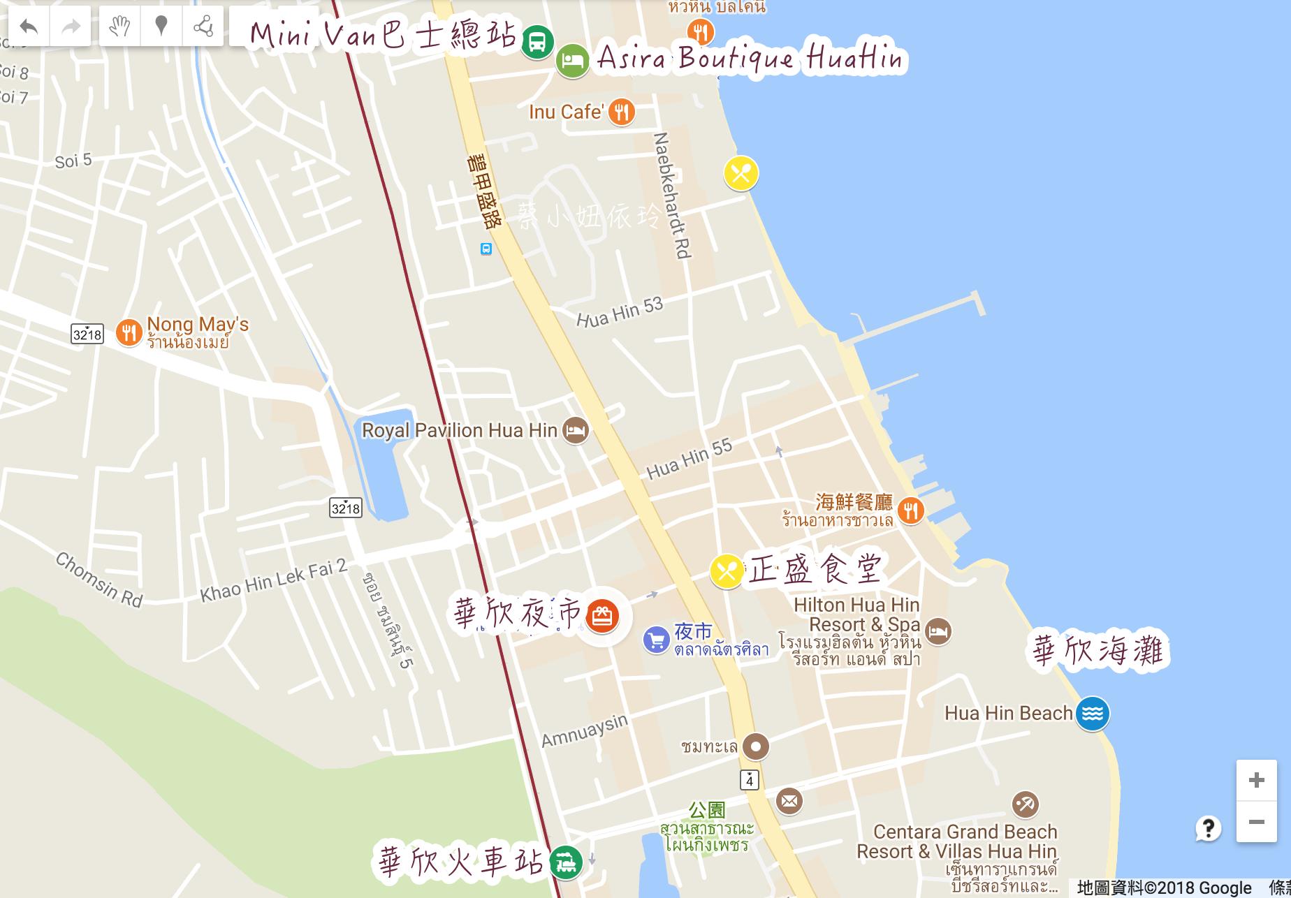 泰國華欣飯店推薦 Asira Boutique Huahin 交通便利平價華欣住宿