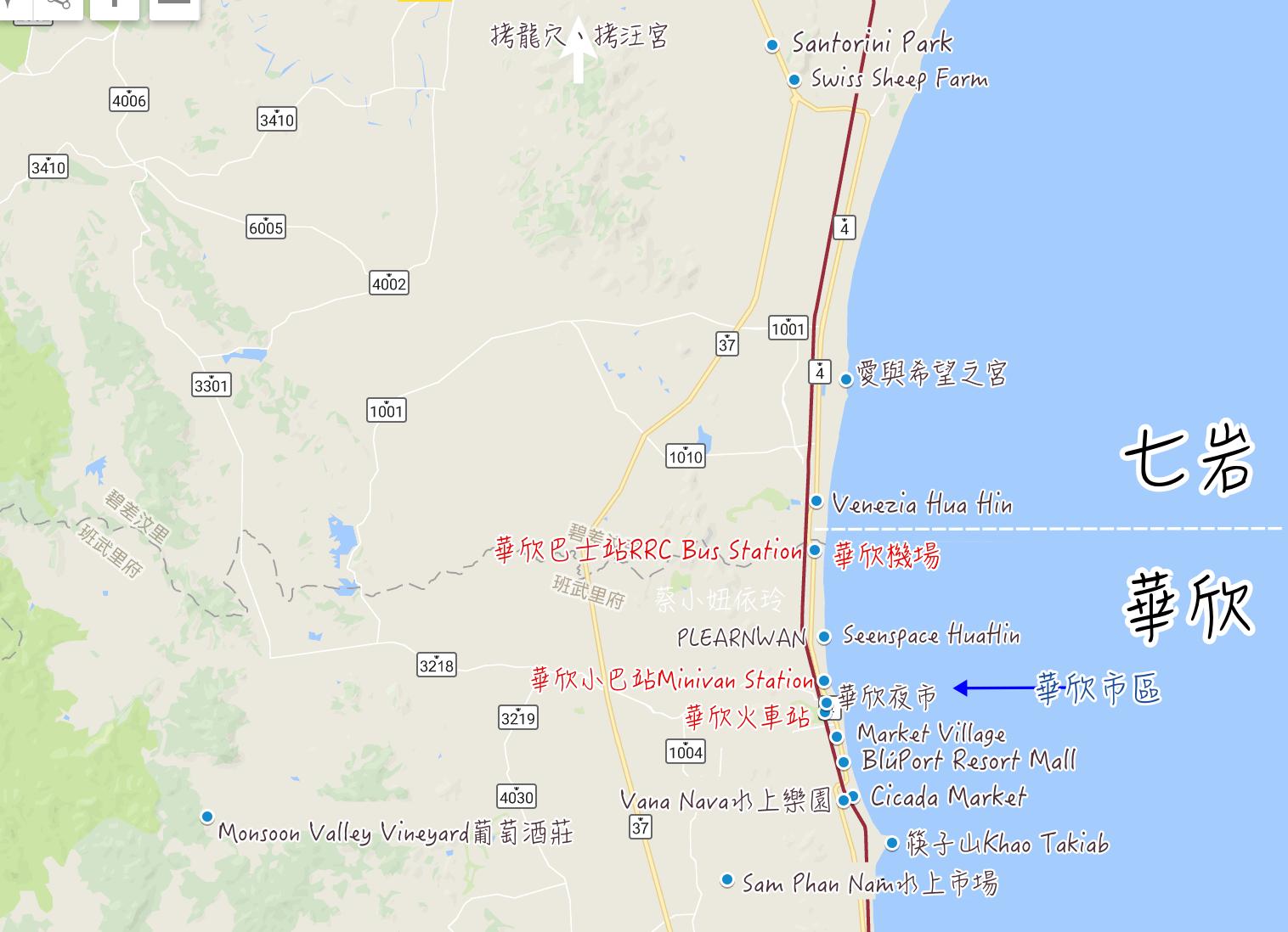 泰國華欣飯店推薦 住宿區域挑選 精選華欣度假村心得