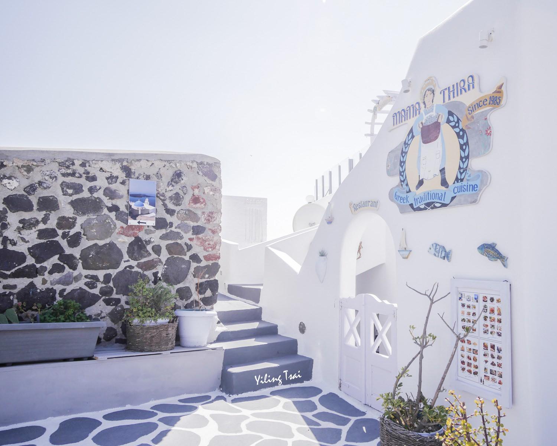 希臘聖托里尼景點 藍頂教堂位置交通攻略