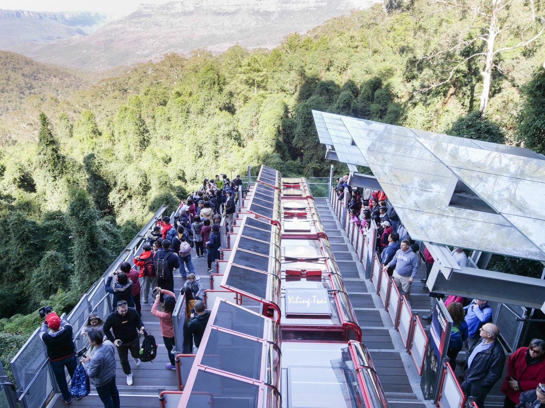 澳洲雪梨近郊景點 藍山國家公園一日遊 世界景觀纜車