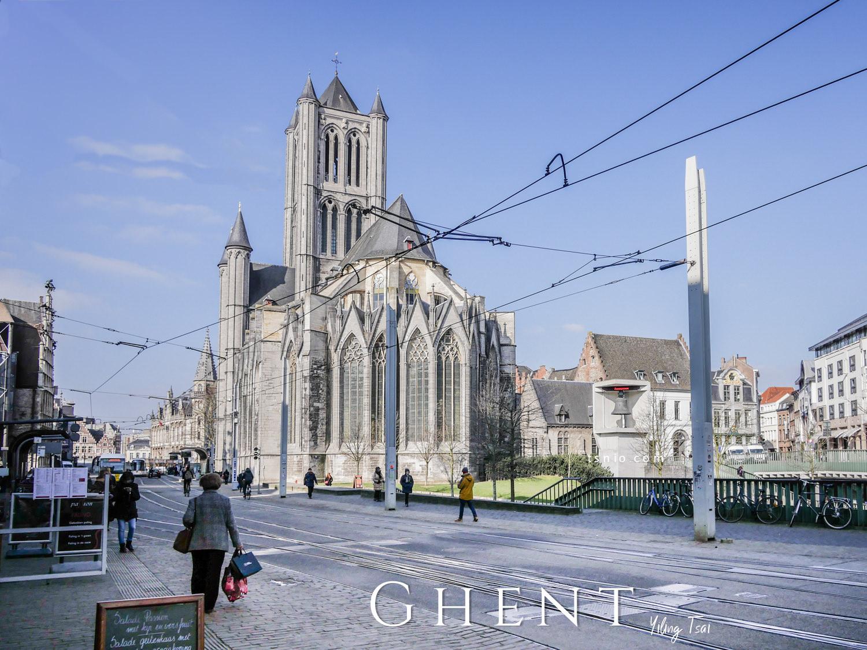 比利時根特景點總整理 根特散步地圖