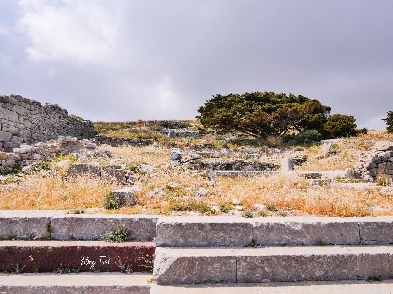 希臘聖托里尼景點  Ancient Thera 古提拉遺跡