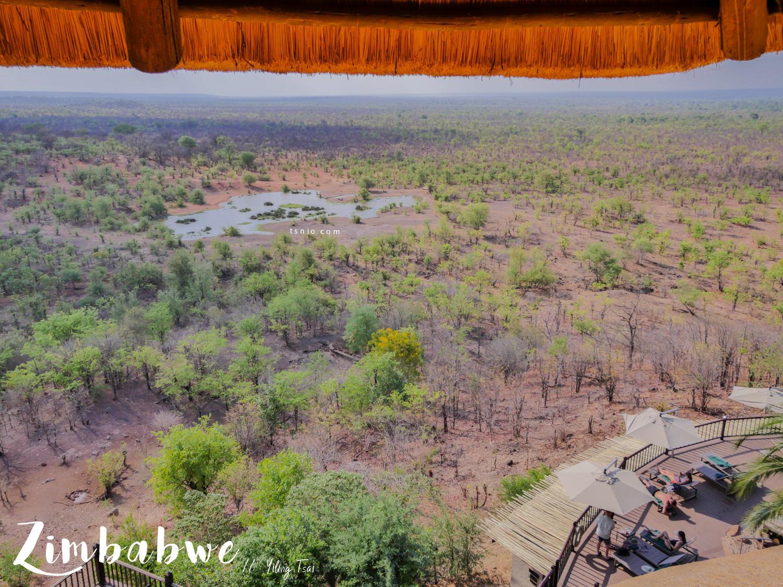 辛巴威維多利亞瀑布住宿 Victoria Falls Safari Lodge 最接近大草原的維多利亞瀑布飯店