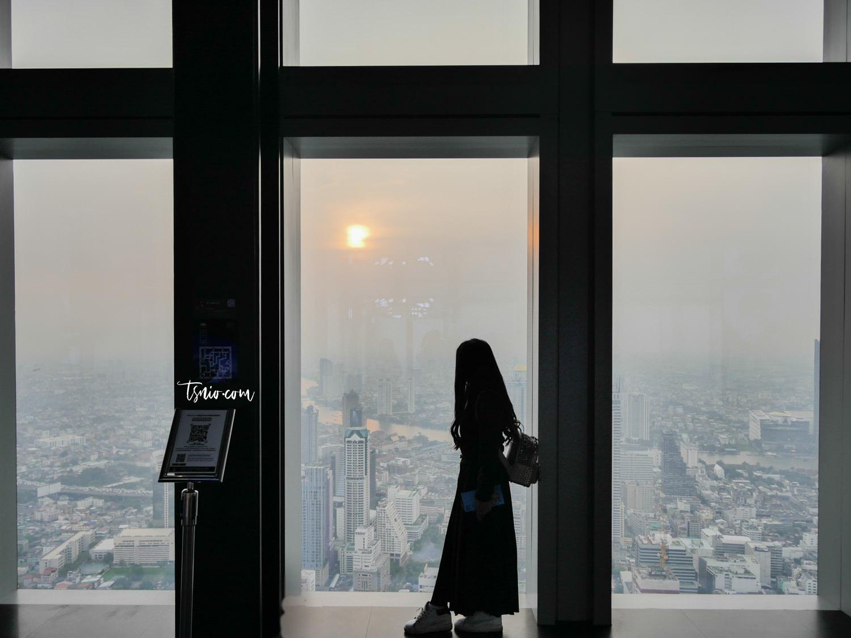 曼谷高空酒吧 Mahanakhon Skywalk 泰國最高大樓78樓高空透明步道