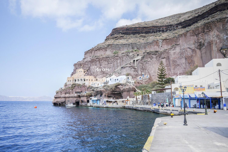 希臘聖托里尼費拉景點總整理 Fira費拉散步地圖