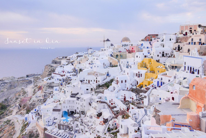 希臘聖托里尼伊亞景點總整理 Oia伊亞散步地圖夕陽拍照攻略