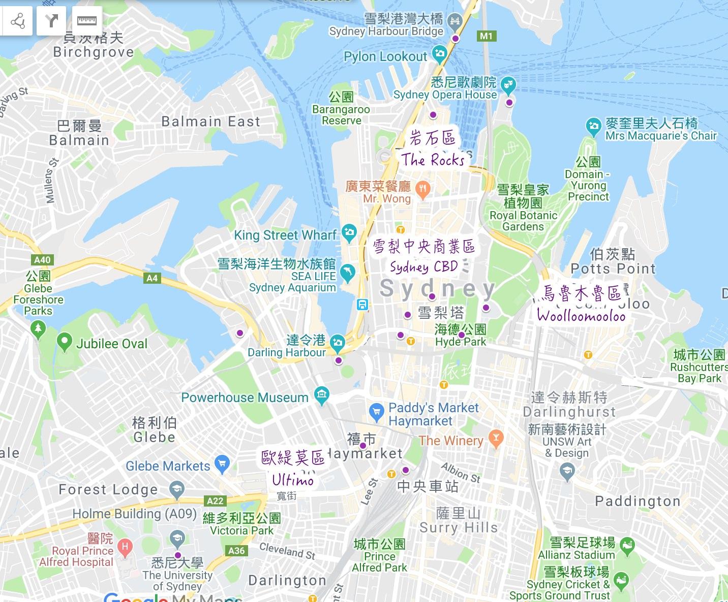澳洲雪梨住宿推薦 雪梨住宿區域挑選 精選雪梨飯店總整理