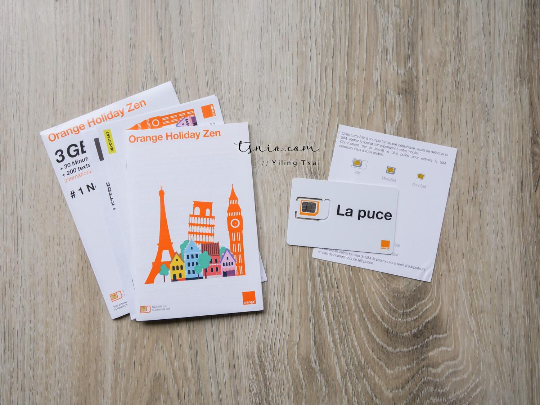 歐洲上網卡推薦 Orange Holiday 預付卡 可撥打國際電話