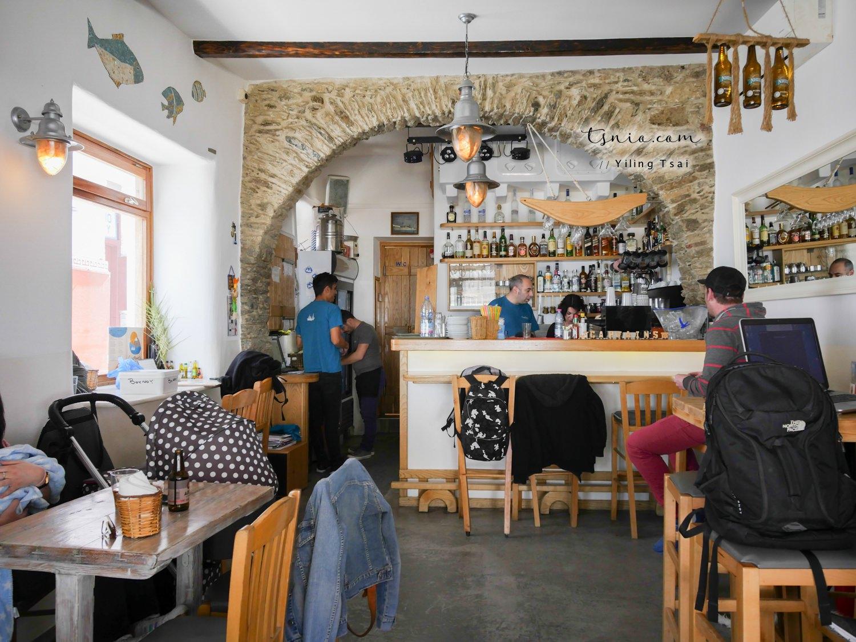 希臘米克諾斯美食 Captain's Mykonos 海景第一排熱門餐廳