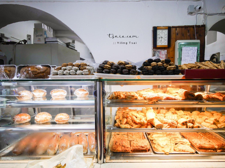 希臘米克諾斯美食 Psyllos Bakery 隱藏版當地熱門烘焙麵包店