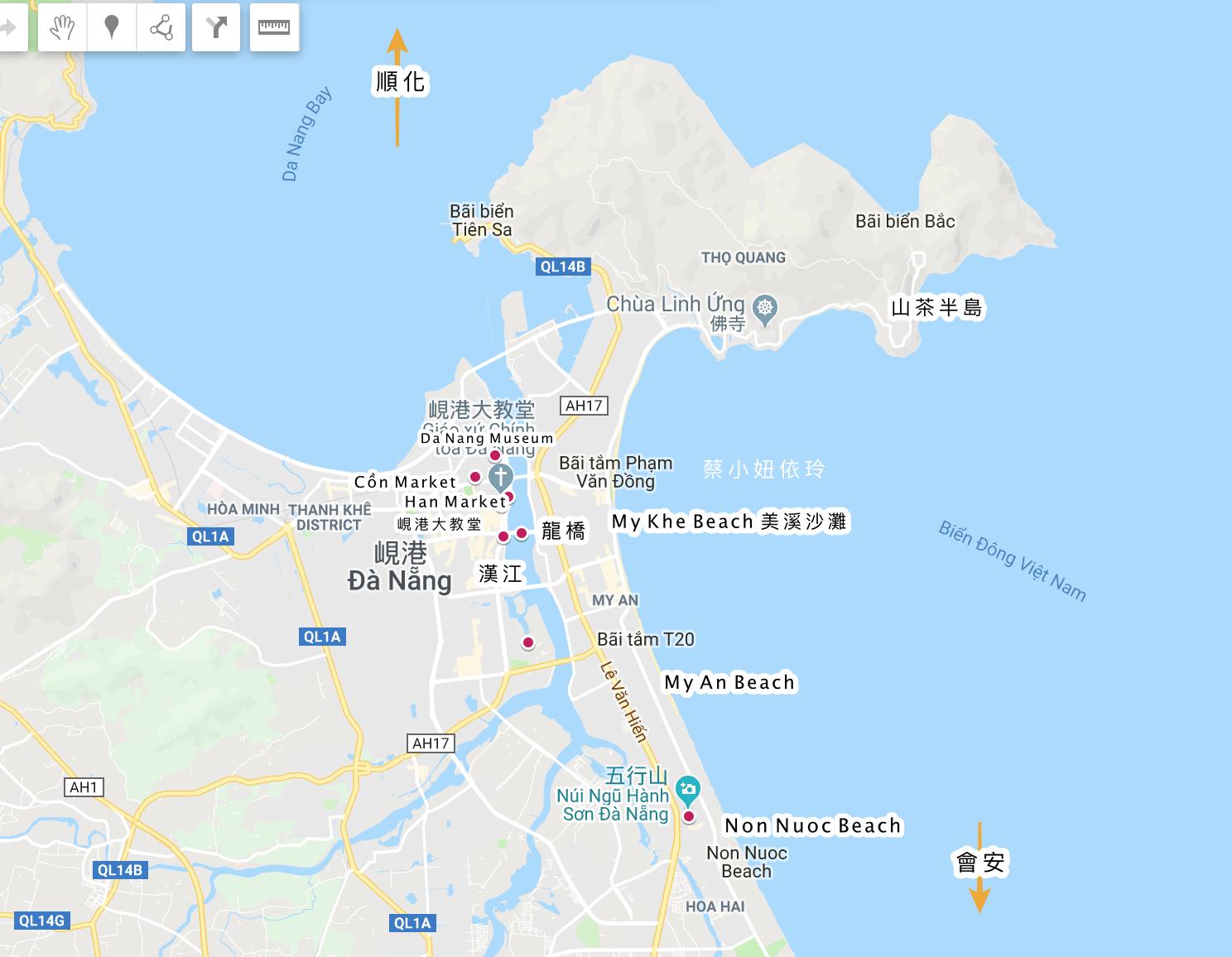 越南峴港住宿推薦 住宿區域介紹 峴港飯店度假村總整理